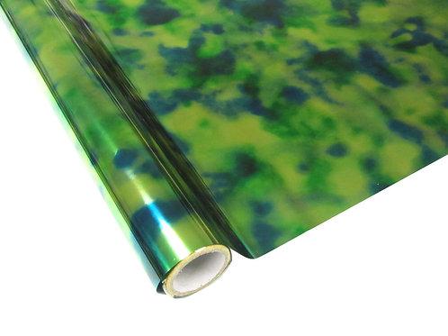Tie Dye Foil - Blue-Green-Yellow