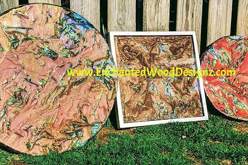 Abalone seashell & Opal Tutorial