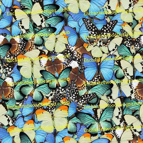 Butterflies 12x12 sheet Pattern
