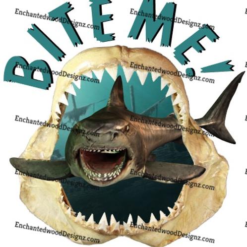 Shark Bite me- 2 options