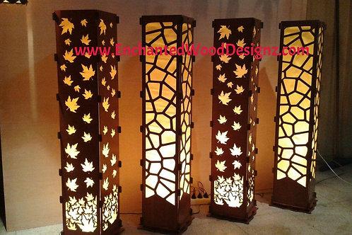 """Floor Lamps - Stunning 45"""" Tall - DIY Kit"""