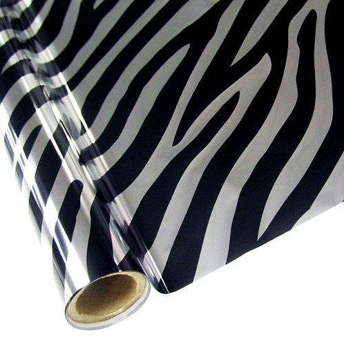 Zebra Clear Foil
