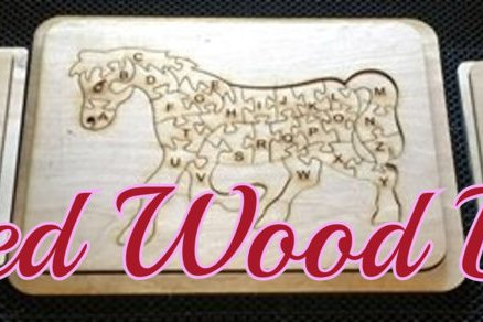 Kids Wooden Puzzles A-Z - Customized