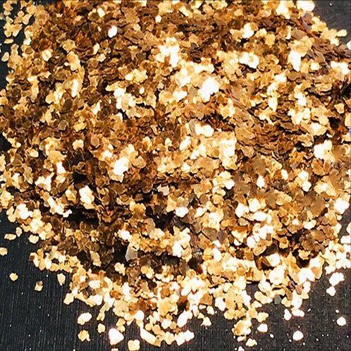 """Chunky Fools Gold Moon Rocks-""""Painted""""-Natural Mica"""