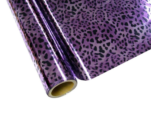 Leopard - Purple Foil