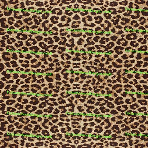 Cheetah QTD 1 Print 12x12 sheet Pattern