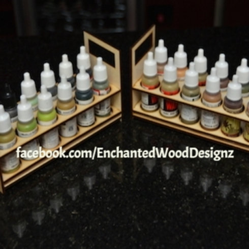 Paint bottle holders - Crafters - DIY'ers