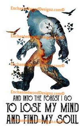 Bigfoot- Into the forest