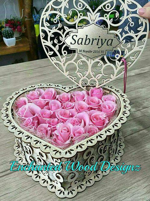 Heart Basket -Customization available