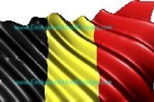 Belgium Flag waving