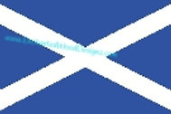 Scotland Flag Flat
