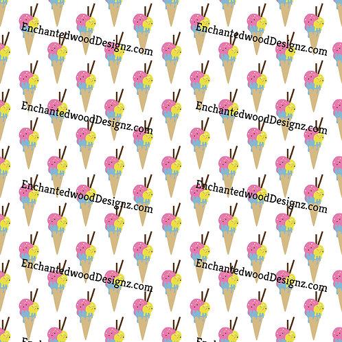 Ice Cream-Yogurt Cones