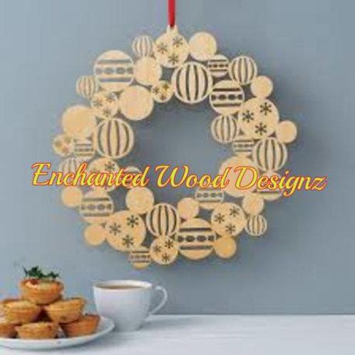 Wooden Wreath DIY
