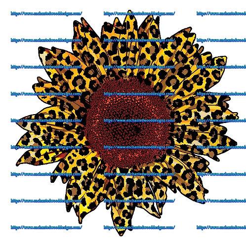 Cheetah Dark middle Sunflower