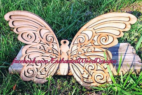 2D Wooden Butterfly - DIY your way
