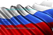 Russian Flag Waving