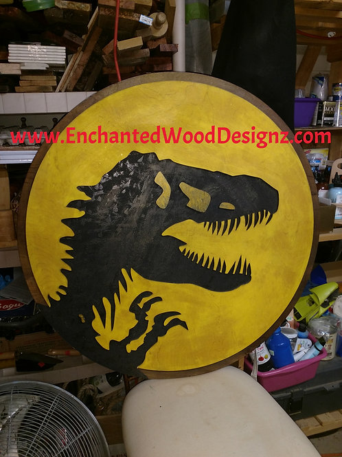 Dinosaur Wall Plaque -This guy is HUGE !!