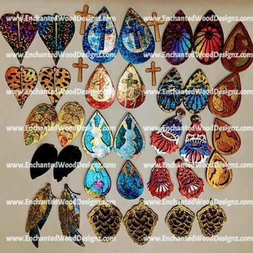 17 sets of Earrings