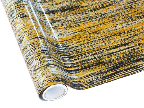 Lines Gold-Black-Silver Foil