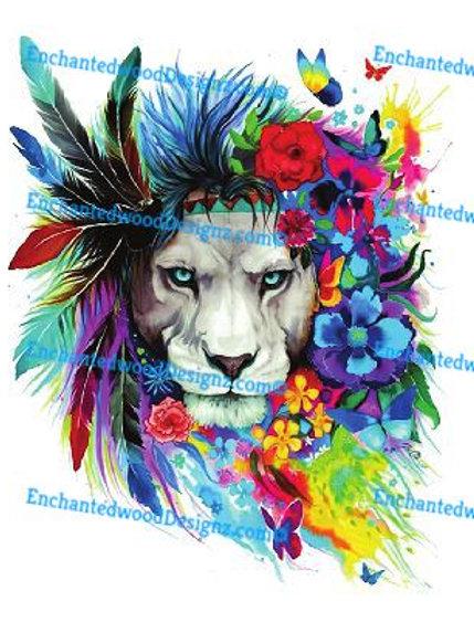 Boho Lion