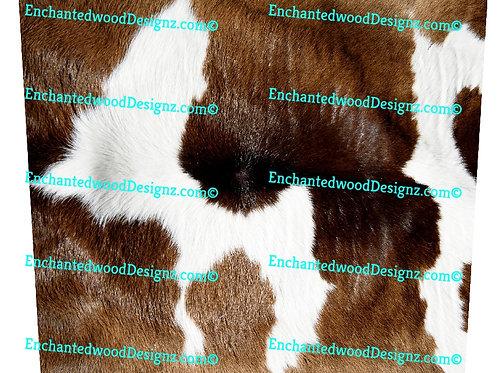 Cow Hide  20 oz Skinny Wrap