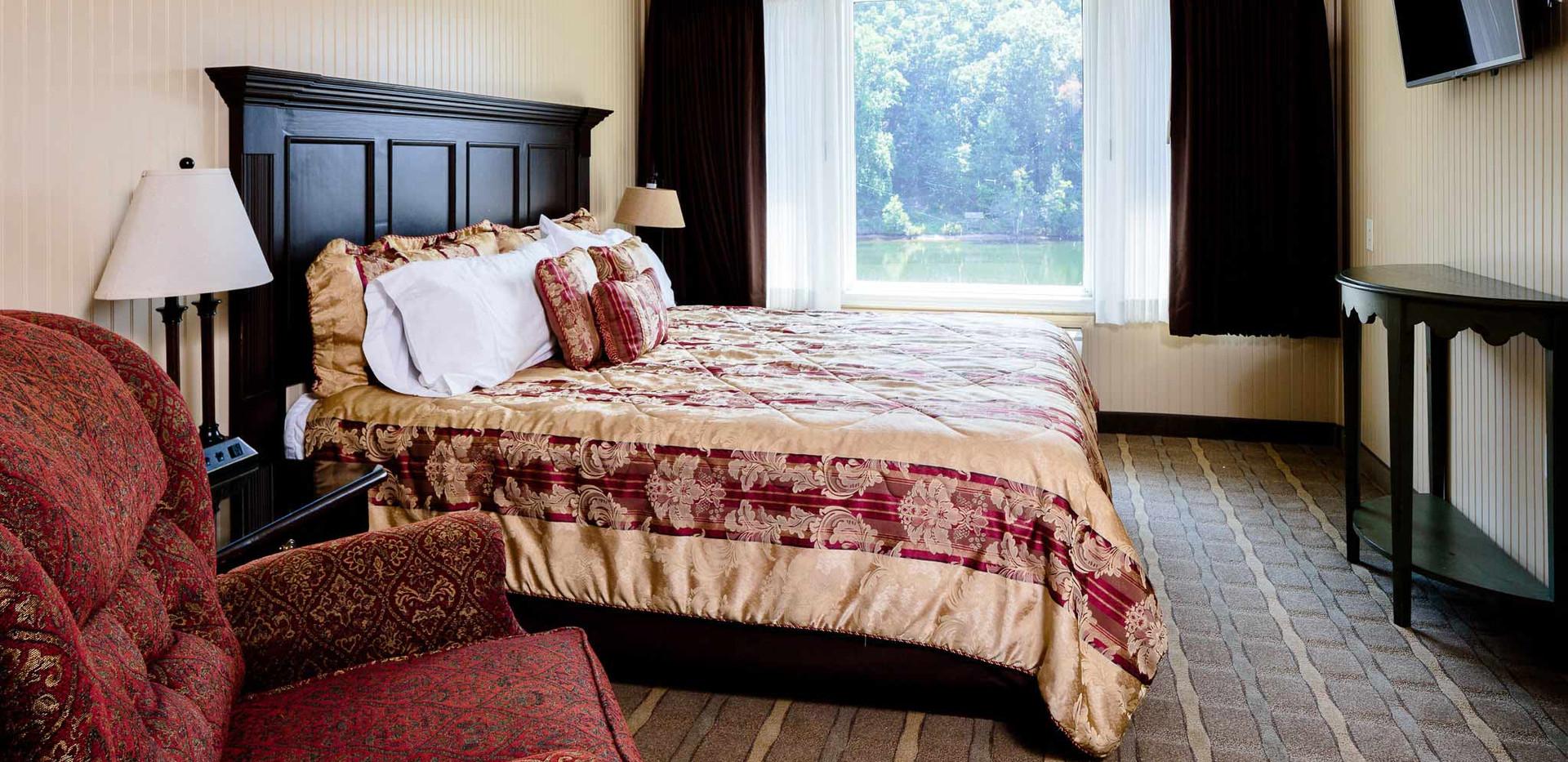 Motel-Room-single king -Enchanted DIY RE-TREAT 2020