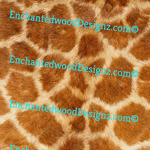 Animal Skin/Fur Giraffe