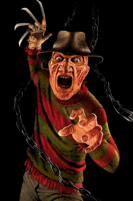 Nightmare On Elm Street Freddy Krueger Ready 3' x 5' Window Decor