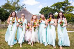 Wedding photography, bridesmaids
