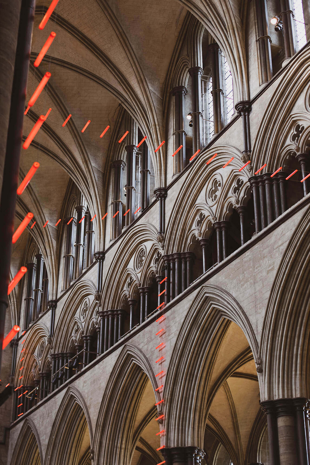 Salisbury Cathedral, Ladders of Light