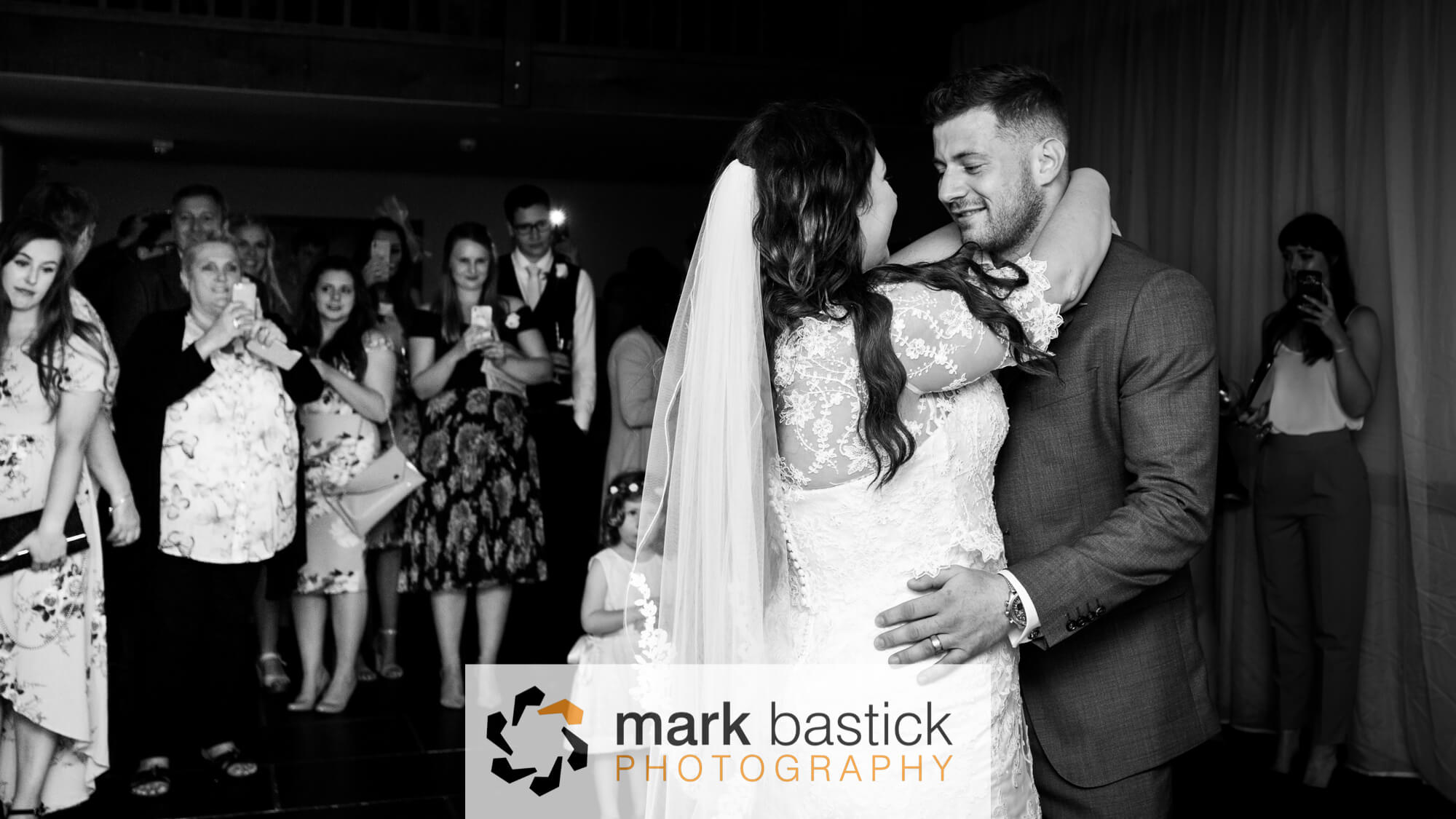 Bride and Groom first dance, Wedding at Manor Barn, Wiltshire