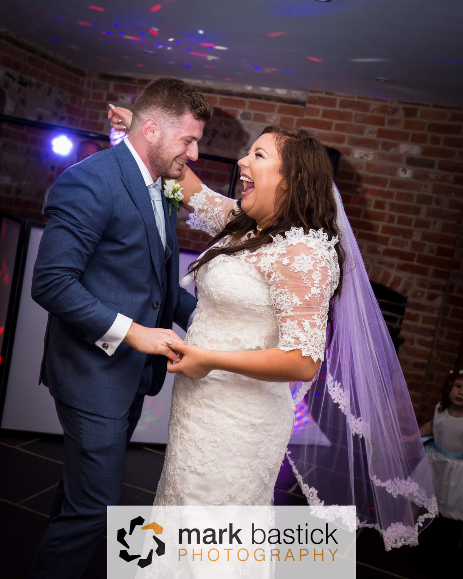 Bride and Grooms first dance, Wedding at Manor Barn, Wiltshire