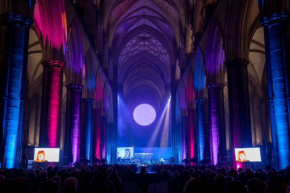 Songs of the light at Salisbury Cathedral