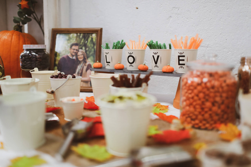 Sweets at wedding table