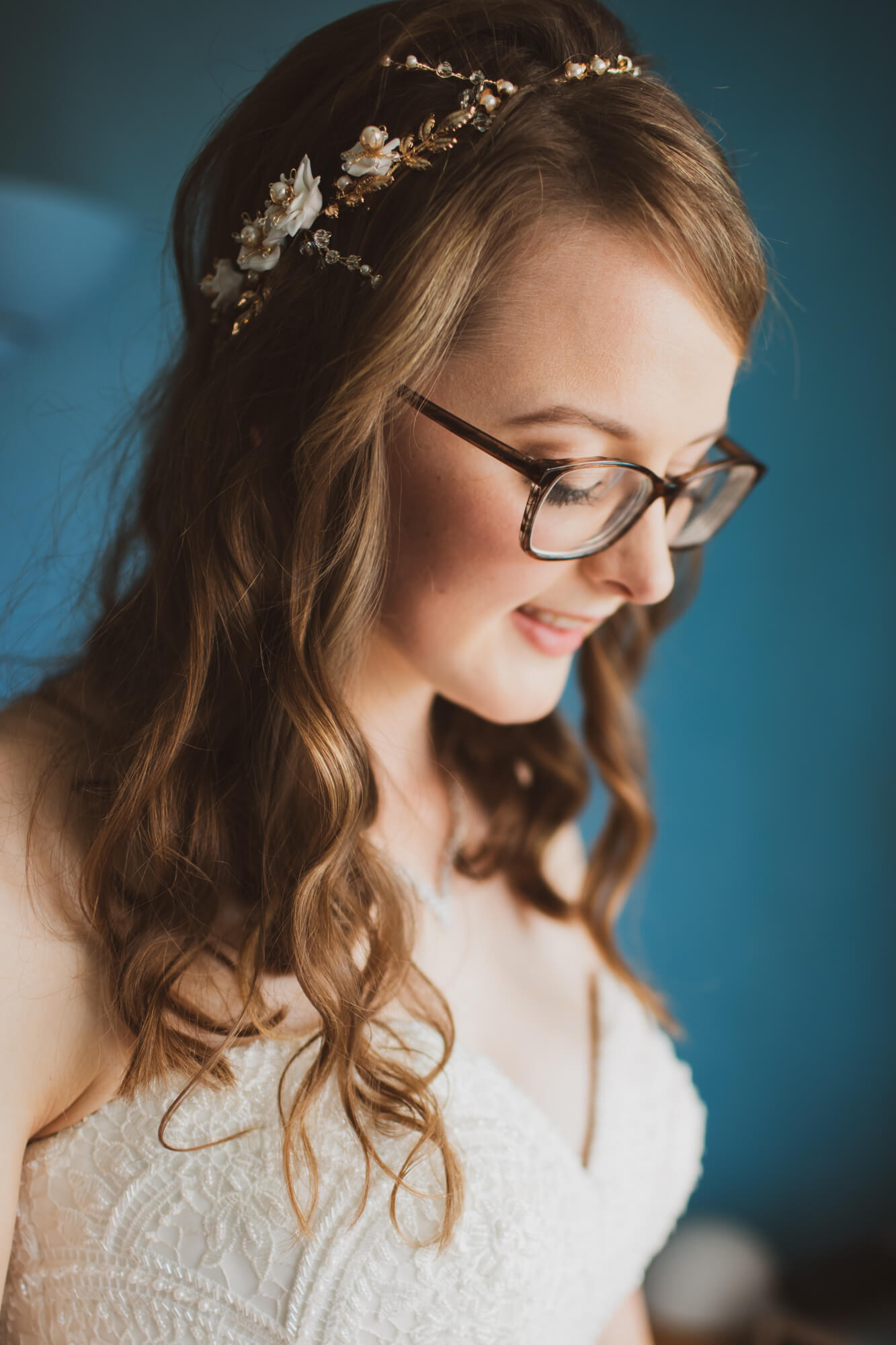 Salisbury wedding photography, Bride getting ready,