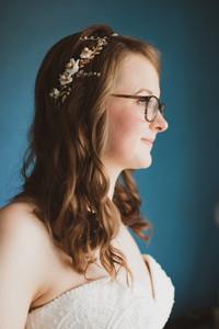 bride portrait, Salisbury Wedding photographer