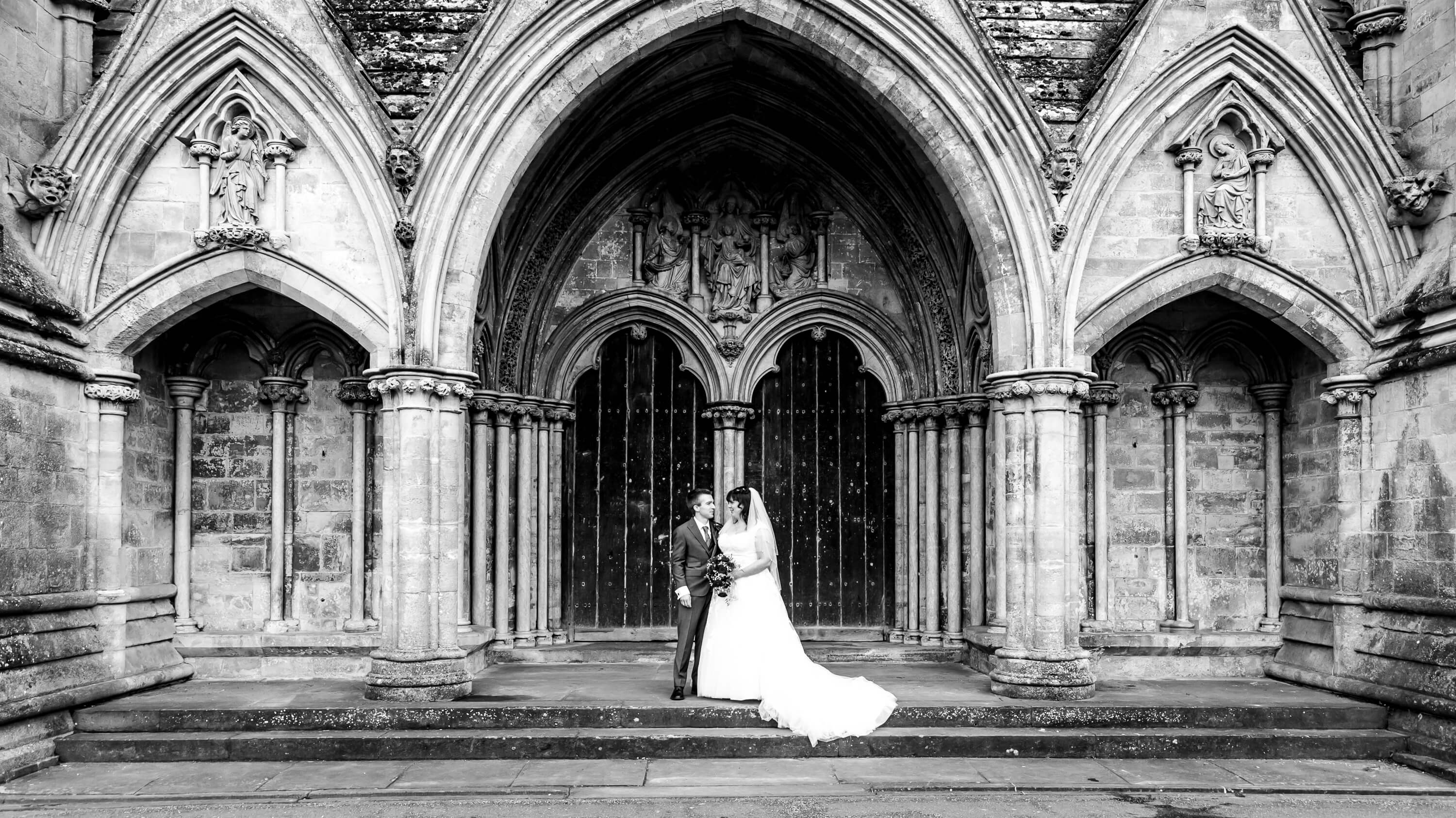 Wedding at Salisbury Cathedral