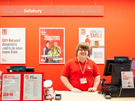 British Heart Foundation opens new store in Salisbury