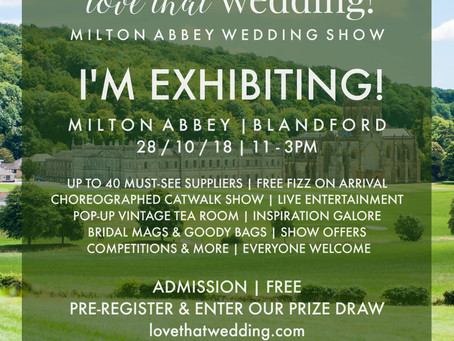 Milton Abbey Wedding Fair 28/10/2018