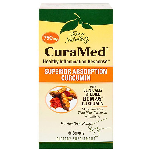 Terry Naturally 750mg Superior Absorption Curcumin 60 softgels