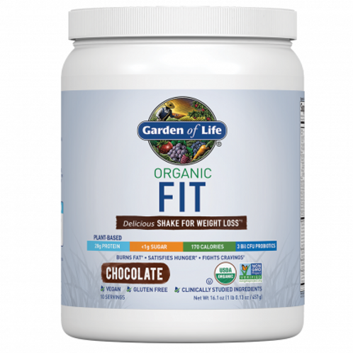Organic Fit Shake For Weight Loss