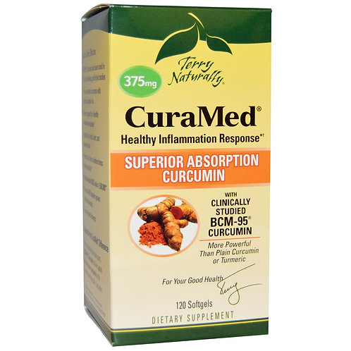 Terry Naturally 375mg Super Absorption Curcumin 120 softgels