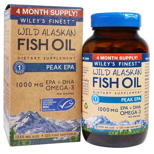 Wiley's Fish Oil Peak EPA 60 capsules
