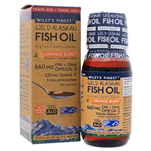 Wiley's Fish Oil Omega 3 250 ml