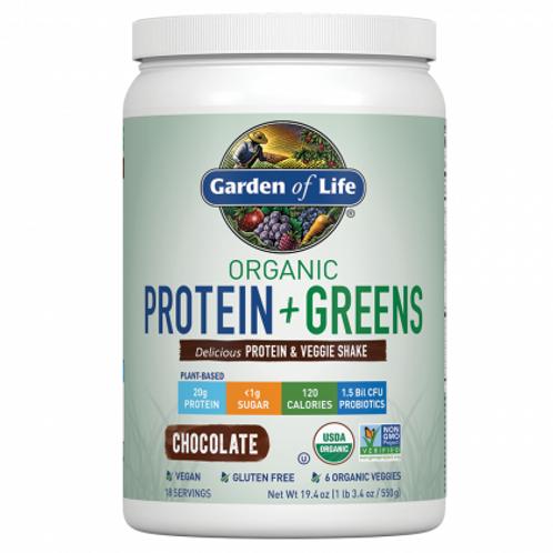 Garden of Life Organic Protein + Greens Protein & Veggie Shake