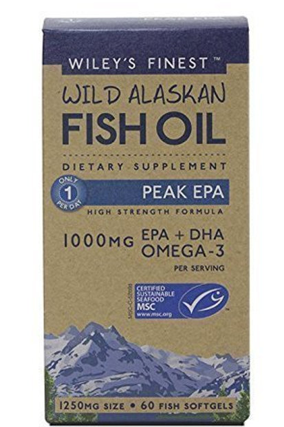 Wiley's Fish Oil 30 Capsules Peak EPA