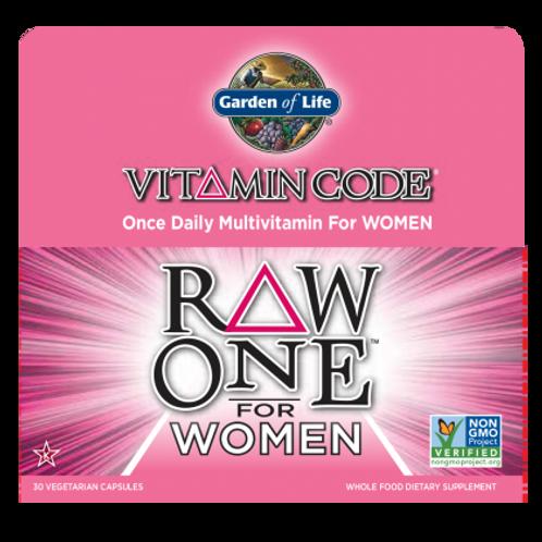 Vitamin Code® RAW ONE™ for Women