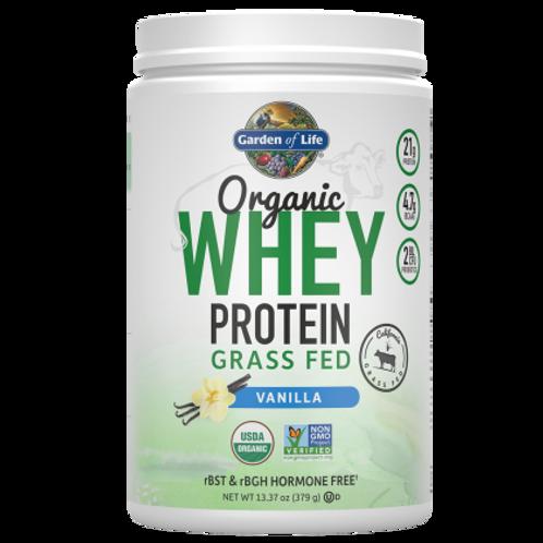 Garden of Life Organic Whey Protein