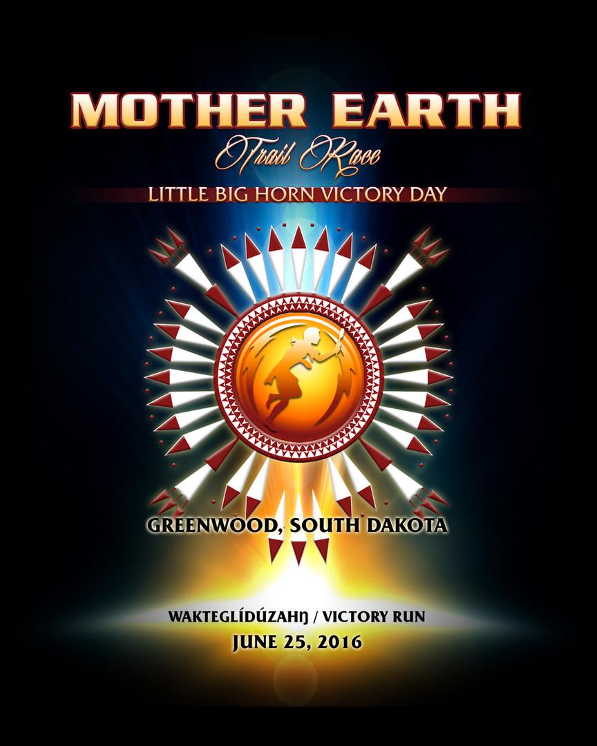 Mother Earth Spiritual Run shirt design