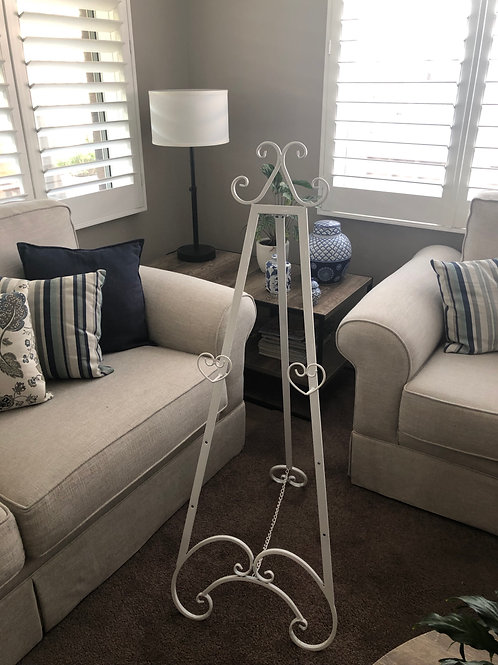 White French Provincial Easel
